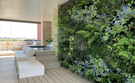 Roessink Interieurbeplanting Groene wanden moswanden